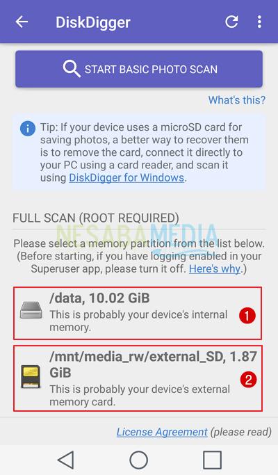 cara mengembalikan foto yang terhapus di android dijamin berhasil
