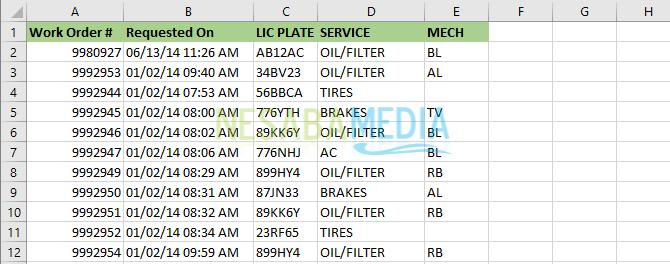 Menghapus Duplikasi Excel 7