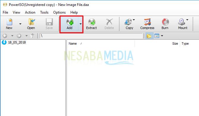 cara membuat file iso dengan mudah