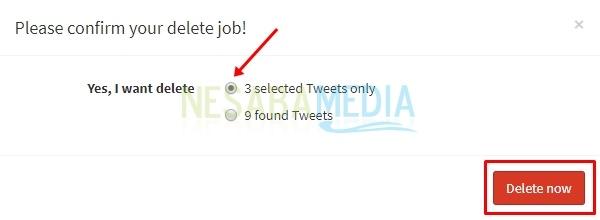 cara menghapus banyak tweet sekaligus dengan mudah