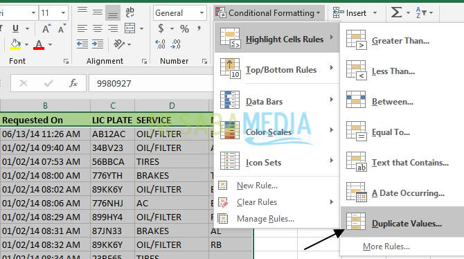 Cara Menghapus Data Ganda (Duplikat) di Excel