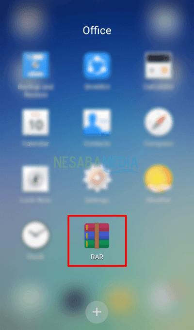 cara membuka file rar dan zip di HP android