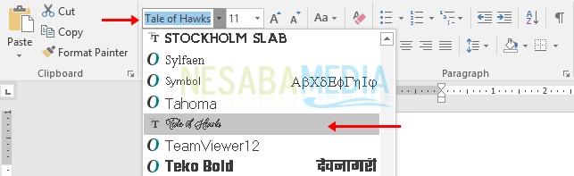 check font