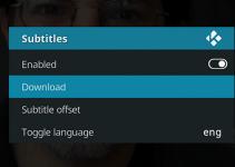 cara memasukkan subtitle film