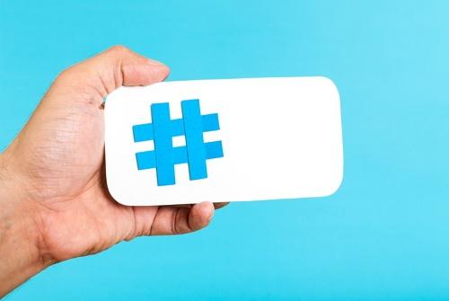 gunakan hashtag