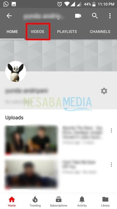 cara menghapus video di youtube dengan mudah