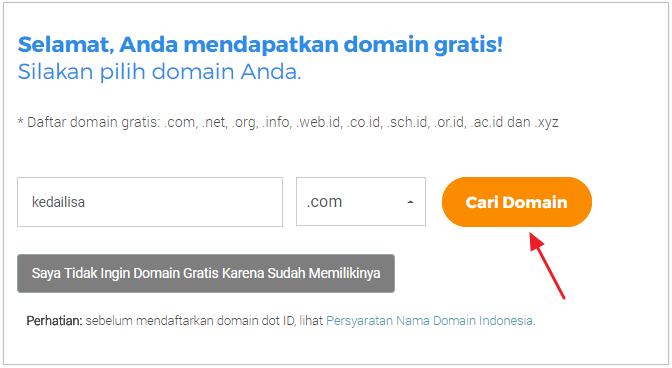 cari domain