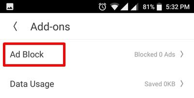 click ad-block