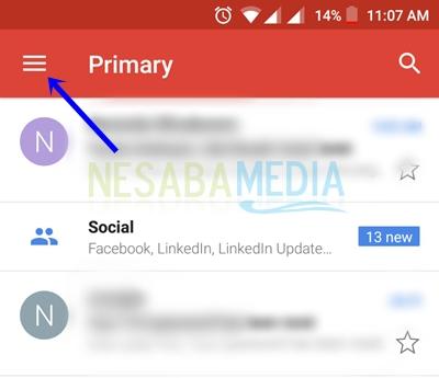 cara membuka email