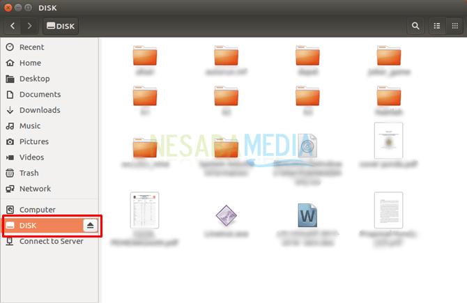 cara format flashdisk di linux untuk pemula