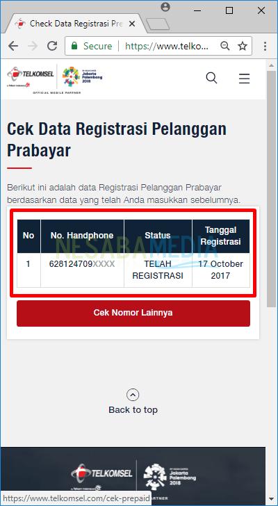 2 Cara Cek Registrasi Kartu Telkomsel Simpati Berhasil Atau Tidak