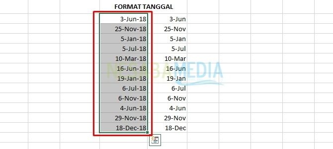 date format was changed