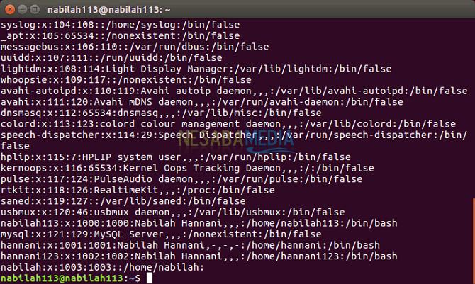 cara membuat user baru di linux ubuntu