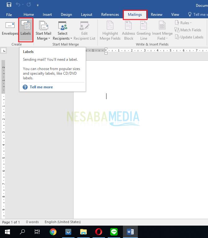 download format label undangan 103 word 2007
