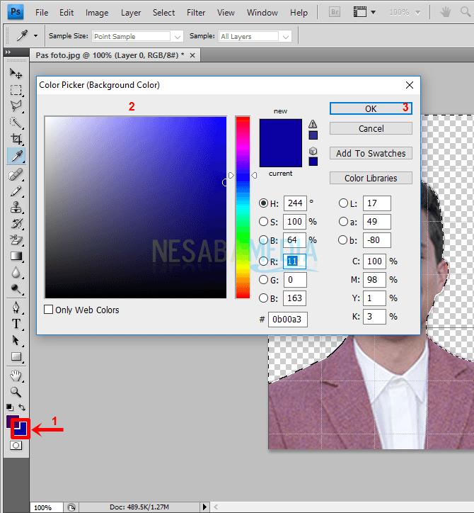 Langkah 6,5 - pilih warna