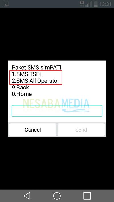 daftar paket sms simPATI 4