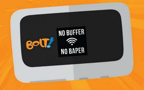 paket internet Bolt adalah