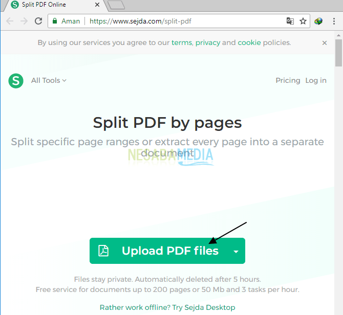 cara memisahkan file pdf