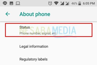 select status