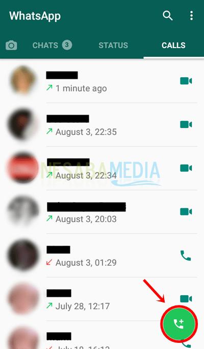 3 - pilih ikon telepon