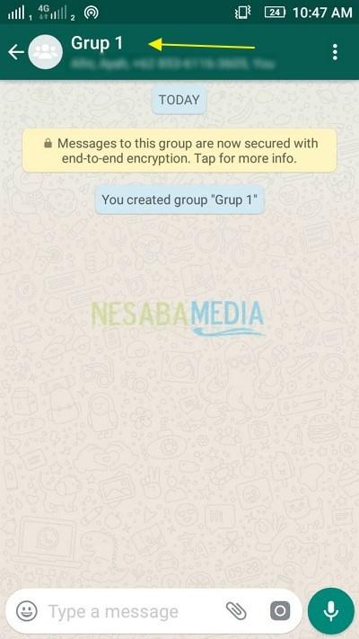 Cara Membuat Grup di Whatsapp di HP Android