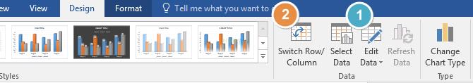 cara membuat grafik di word 2010