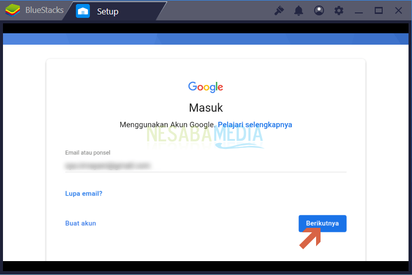 registrasi akun google