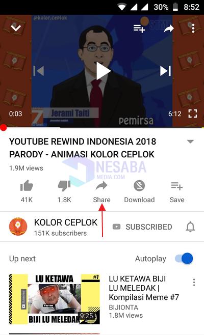 Cara Menyimpan Video dari Youtube 1