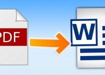 Cara Merubah File Pdf Ke Word Secara Manual