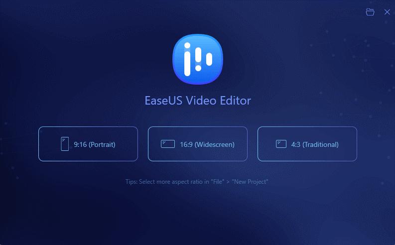 EaseUS Video Editor 1