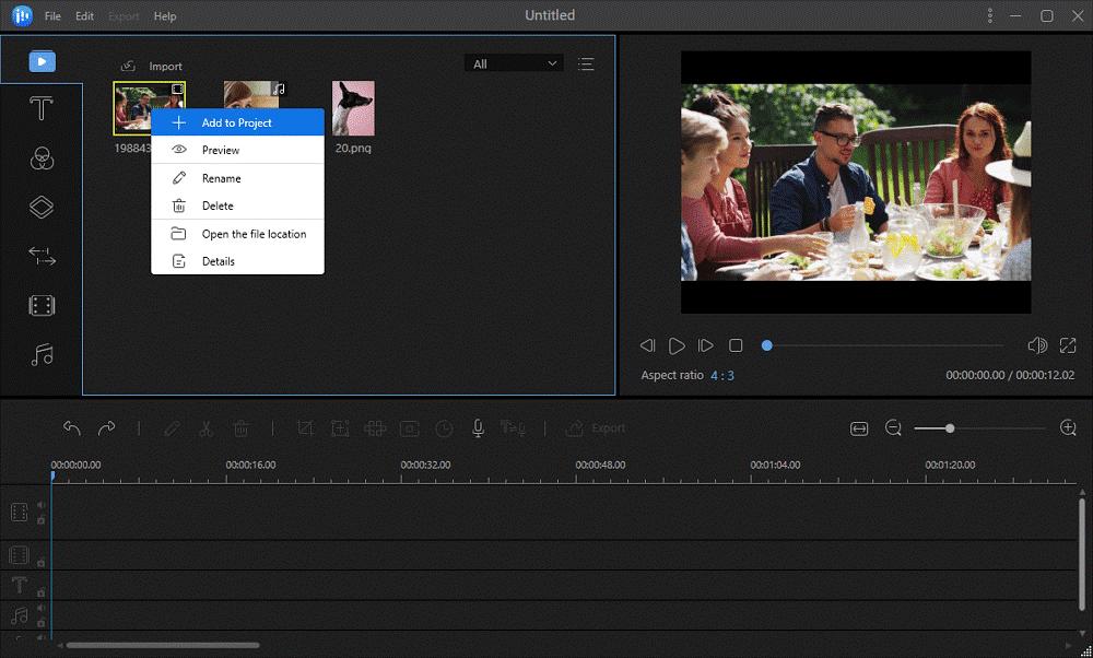 EaseUS Video Editor 3