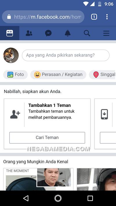 Membuat facebook 12