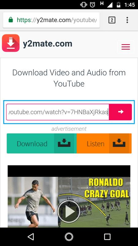 Menggunakan Downloader Online 3