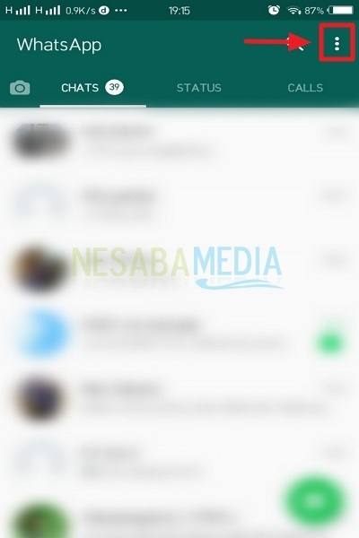 2 Cara Mengganti Background Whatsapp Mudah 100 Work