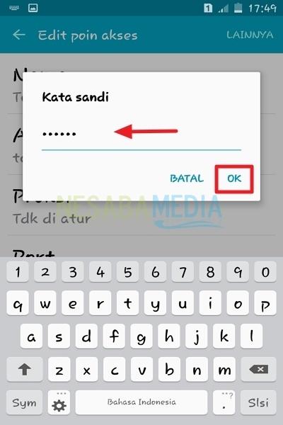 cara setting APN Telkomsel 3G