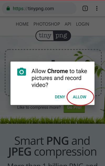 memperkecil ukuran foto di Android 2