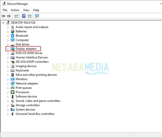 cara update driver VGA