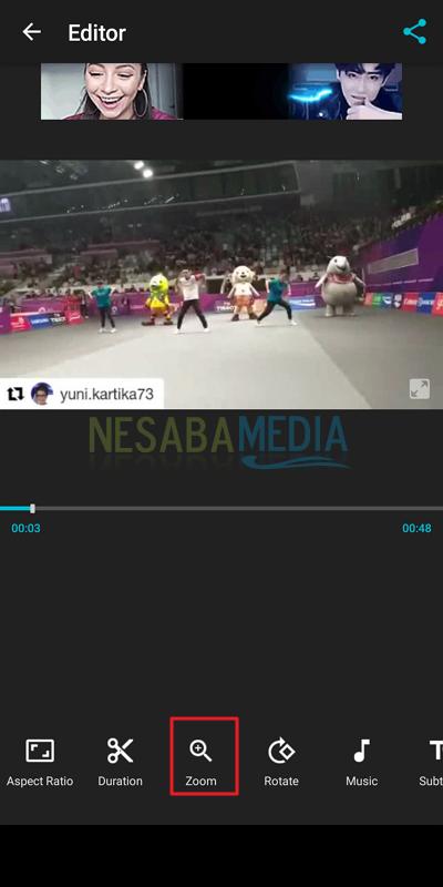 cara mengedit video di HP Android