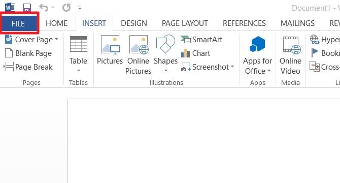 cara membuat kartu nama di Microsoft Word 2007 2010 2013