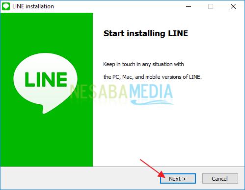 install line pc