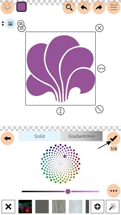 ubah warna logo