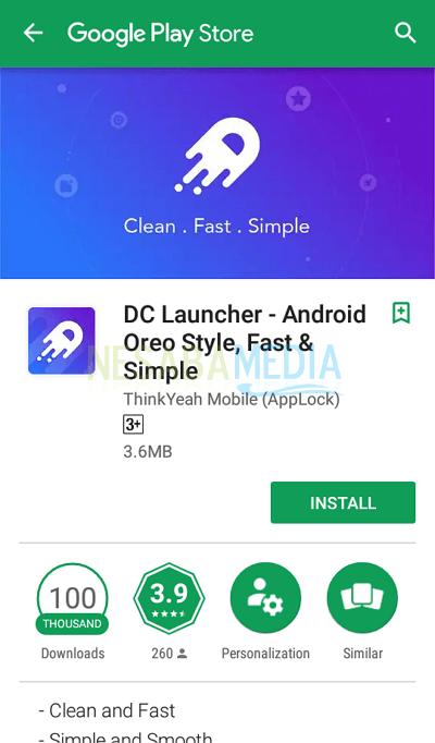 3 - install aplikasi DC Launcher