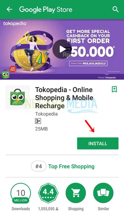 5 - install tokopedia