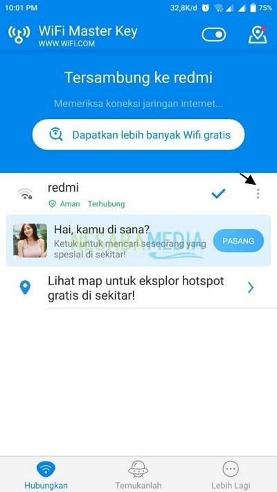 cara menggunakan Wifi Master Key untuk pemula