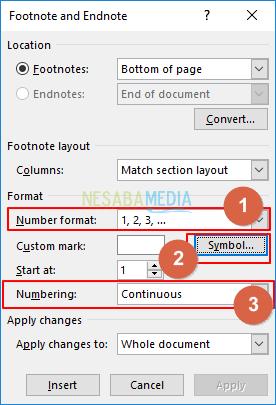 Cara Membuat Footnote Di Word Yang Benar Lengkap Gambar