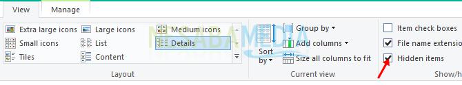 silakan buka File Explorer