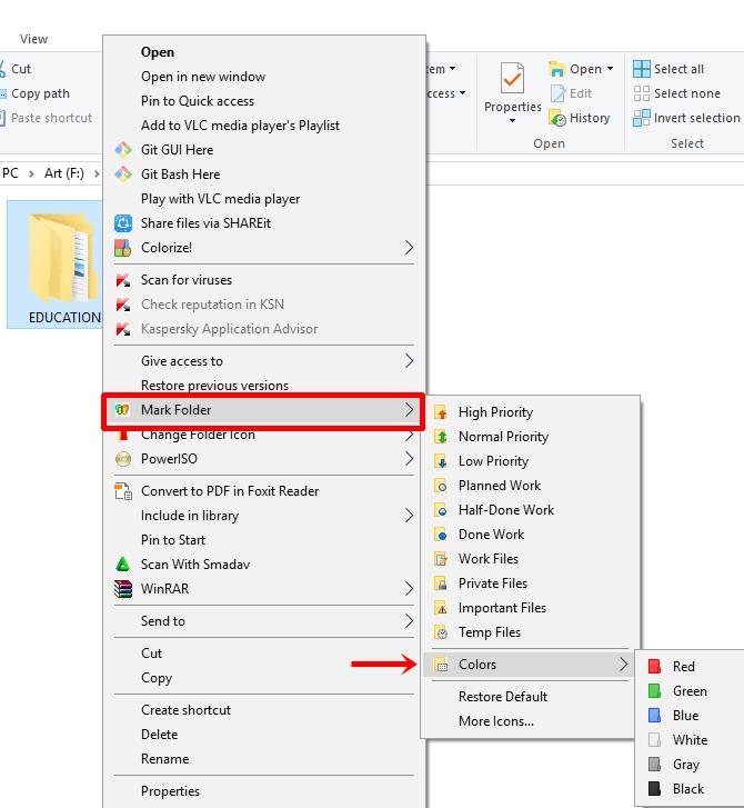 cara mengubah warna folder di Windows untuk pemula