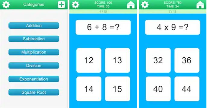 aplikasi matematika di HP android