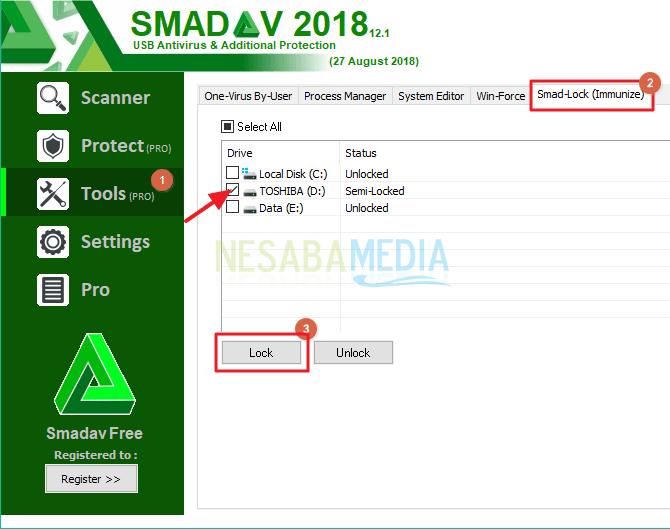 cara menghilangkan virus di flashdisk menggunakan cmd