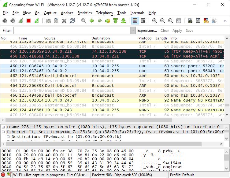 Download Wireshark Terbaru